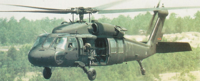 Black Hawk In Combat