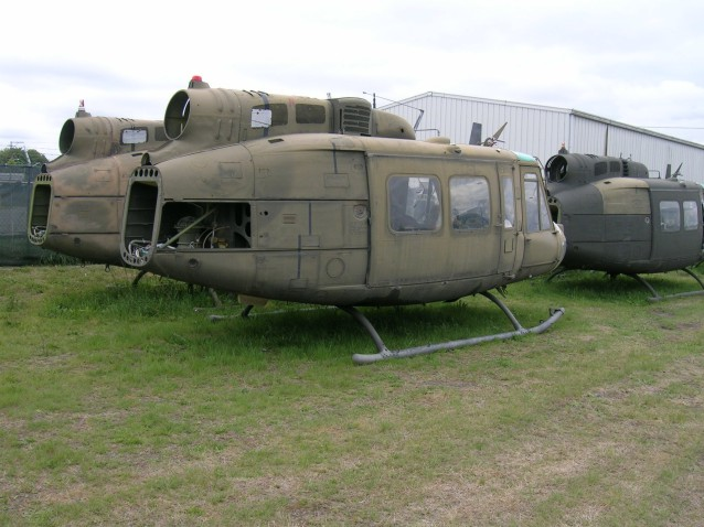 Restoration of the Huey Helicopter