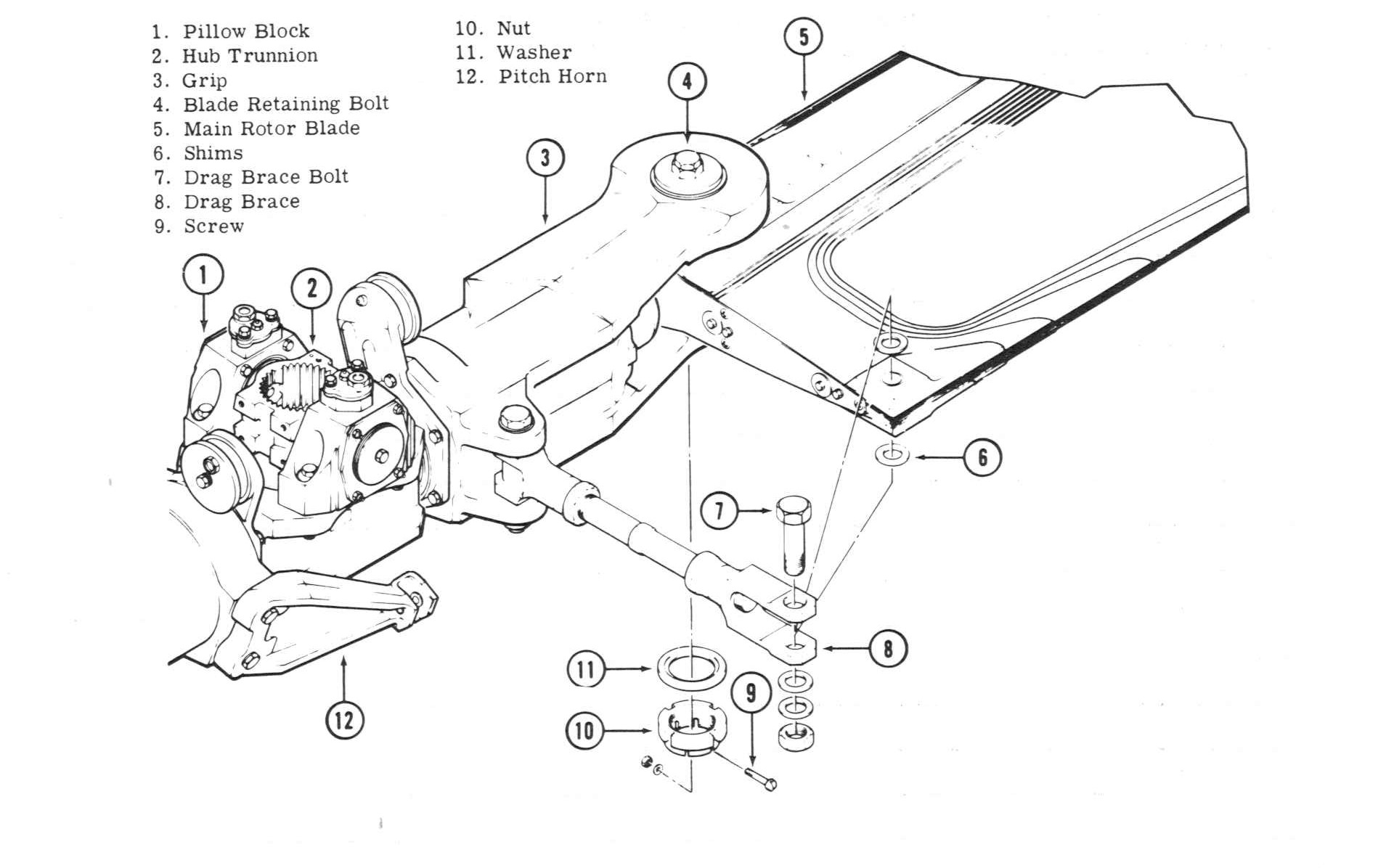 Huey_servicebook on Exploded View Engine Parts Diagram