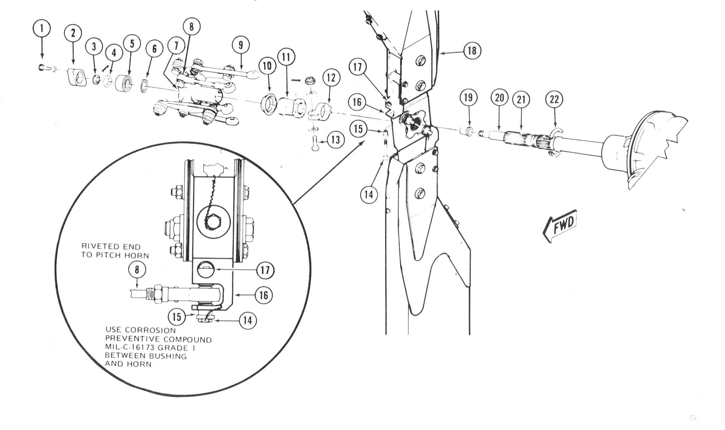 Helicopter Swashplate Diagram on swashplate design